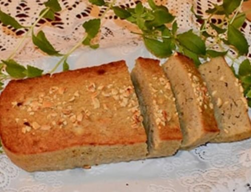 Golden Stevia Banana Bread